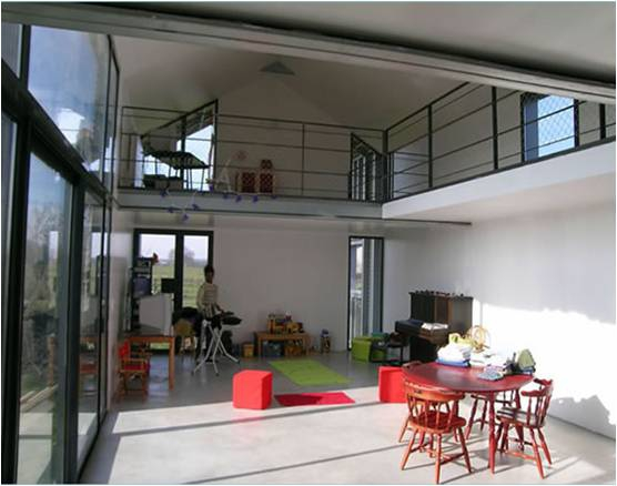 les avantages d 39 une maison ossature m tallique. Black Bedroom Furniture Sets. Home Design Ideas