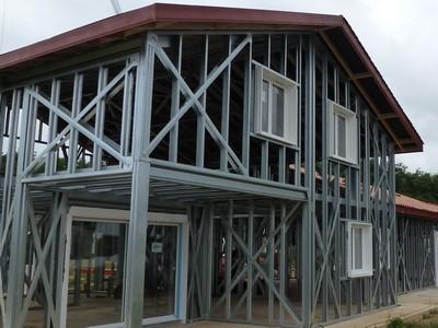 Constructeur De Maisons à Ossature Métallique En Alsace : Steel Construction